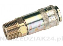"""1/2"""" TAPERED MALE COUPLING Draper D 37838"""