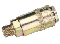 """1/4"""" TAPERED MALE COUPLING Draper D 37833"""