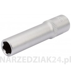 "Nasadka 7mm 1/4"" hexagon, głęboka Draper D 09826"
