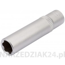 "Nasadka 8mm 1/4"" hexagon, głęboka Draper D 09827"