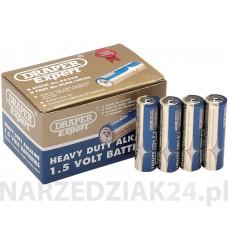 AA H.DUTY ALKALINE BATTERY24PC Draper D 64248