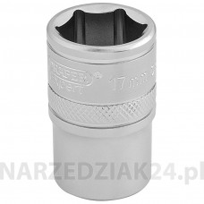 "Nasadka 17 mm 1/2"" hexagon Draper 16607"