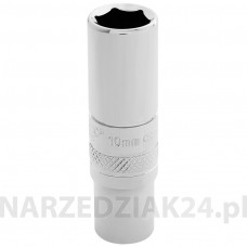 "Nasadka 6-kątna 10mm 1/4"" HEXAGON głęboka Draper 32761"