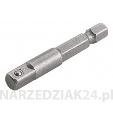 ADAPTER DO KLUCZY NASADOWYCH 1/4'' 6MM 50MM