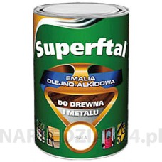 EMALIA SUPERFTAL DO DREWNA I METALU DUAL SZARA 0.8L