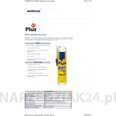 SILIKON SUPER PLUS 280ML CZARNY